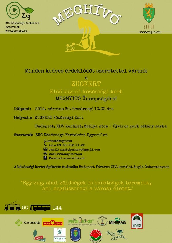 Plakát_Megnyitó_Zugkert